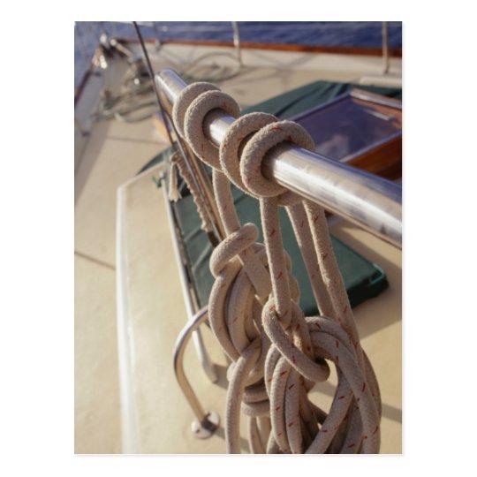 Boat Deck Postcard