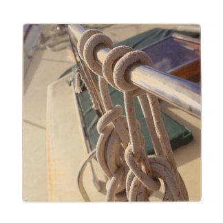 Boat Deck Wood Coaster