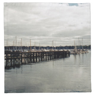 Boat Dock Napkin