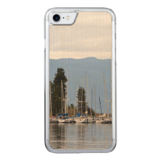 Boat Dock on Flathead Lake Carved iPhone 8/7 Case