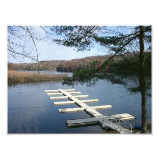 Boat Dock Photo Print