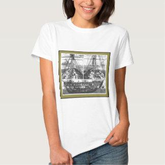 Boat Engraving #1 Tshirt