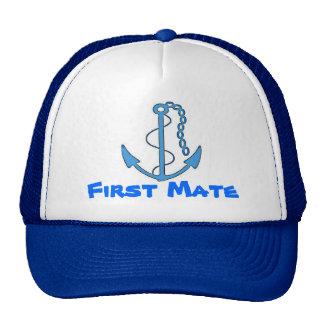 Boat First Mate Baseball Cap