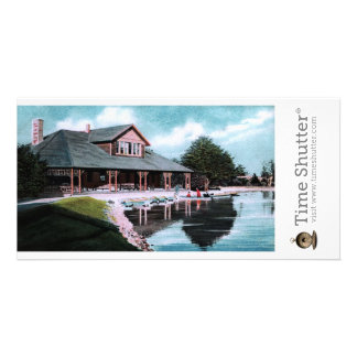 Boat House Personalized Photo Card