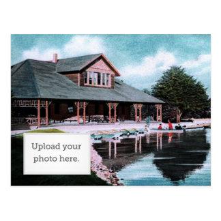 Boat House Postcard