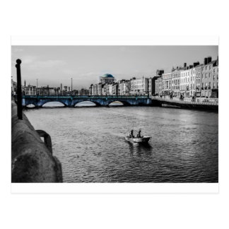 Boat in Ireland Postcard