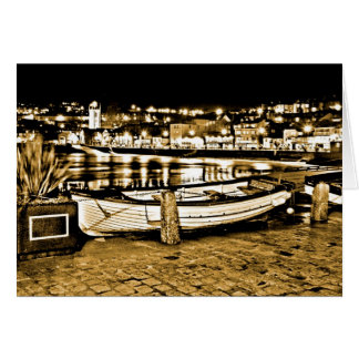 BOAT IN ST. IVES CARD