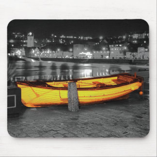 BOAT IN ST. IVES MOUSE MAT