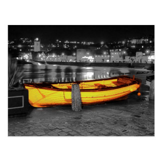 BOAT IN ST. IVES POSTCARD