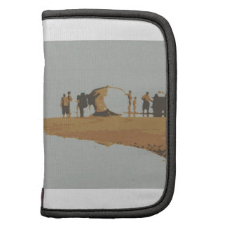 Boat in the beach folio planners