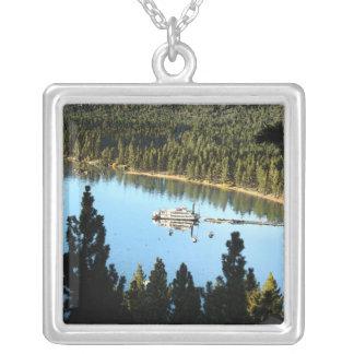 Boat In The Lake Custom Necklace