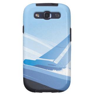 Boat in The Sea Galaxy S3 Cases