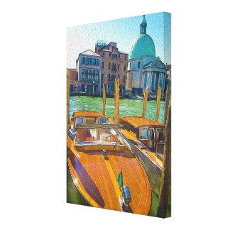 Boat in Venice Canvas Print