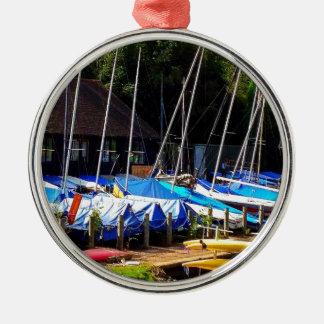 Boat life christmas ornament