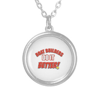 Boat Managers job designs Personalized Necklace