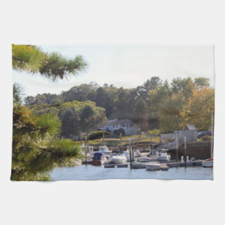 Boat Marina 7322 Tea Towel