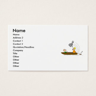 Boat Motor Business Card