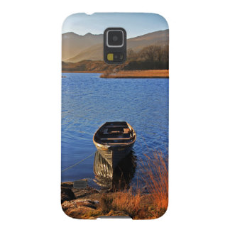 Boat on Lake Samsung Galaxy s5 case
