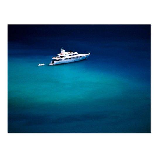 Boat on Magens Bay, St. Thomas, U.S. Virgin Island Postcard