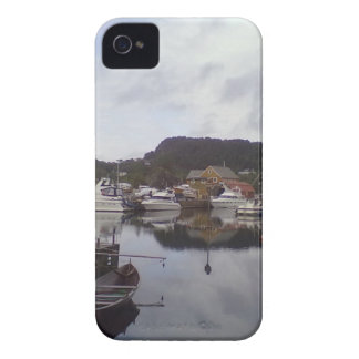 Boat on the sea Blackberry Bold Case