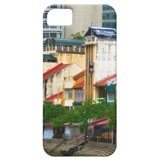 Boat Quay, Singapore iPhone 5 Cover