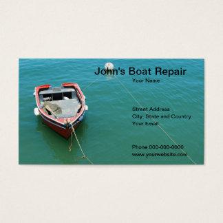 Boat Repair Business Card
