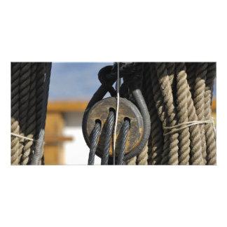 Boat rigging photo card