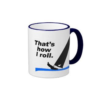 Boat Roll (Male) Ringer Mug
