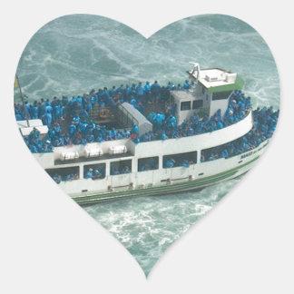 Boat Sail Lake Ontario Niagara River Fallsview fun Sticker