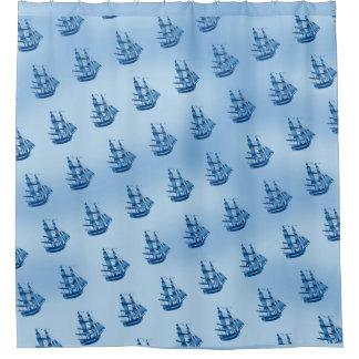 BOAT SEA Shower Curtain