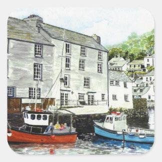 'Boat Trip' Square Sticker