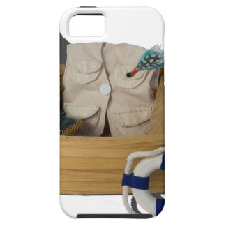 BoatFishingGearLifeVest012915.png Case For The iPhone 5
