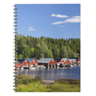 Boathouse at The High Coast Notebook