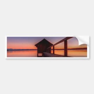 Boathouse Bumper Sticker