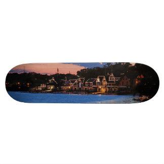 Boathouse Row dusk 20.6 Cm Skateboard Deck