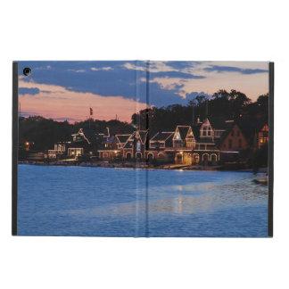 Boathouse Row dusk iPad Air Covers