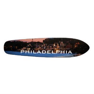 Boathouse Row dusk Skate Boards