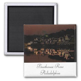 Boathouse Row Magnet