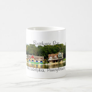 Boathouse Row Panorama Mug