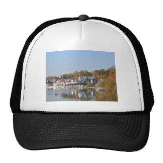 Boathouse Row Philadelphia Mesh Hat