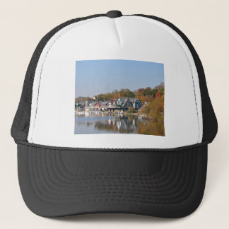 Boathouse Row Philadelphia Trucker Hat