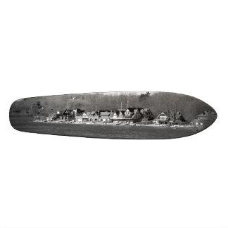 Boathouse Row winter b/w Skate Decks