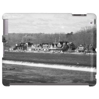Boathouse Row winter iPad Case