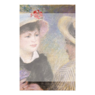Boating Couple by Pierre-Auguste Renoir Flyers