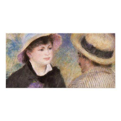 Boating Couple by Pierre-Auguste Renoir Photo Card Template