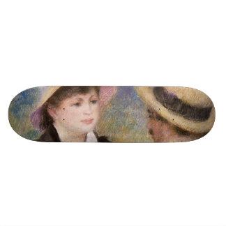 Boating Couple by Pierre-Auguste Renoir Skate Decks