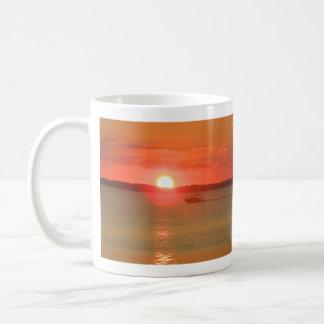 Boating During Sunset Mug