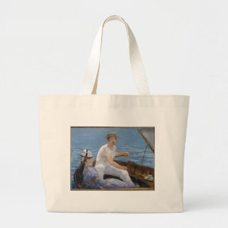 Boating - Edouard Manet Canvas Bags
