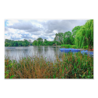 Boating Lake Regent's Park, London Print