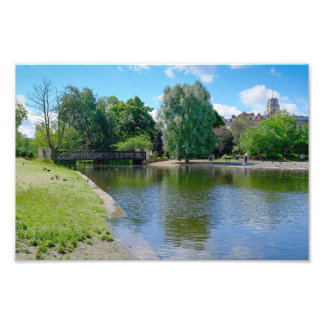 Boating Lake Regent's Park, London Print Photo Print